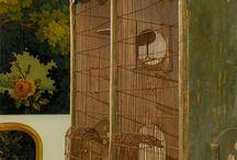 vollière cage oiseaux