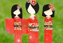 japanese doll paper