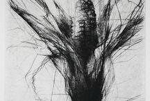 Taidegrafiikka - Kuivaneula