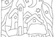 σχεδιαγραμματα /  κγια  παιδικα  σχεδια  και κεντημα  κοκκινκο  ασπρο