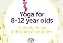 Yoga 8-12 year olds