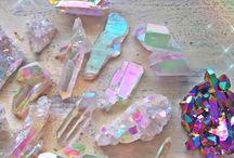 crystals & glitter