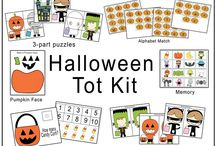 Halloween-Preschool / Ideas for the Halloween season... without scary stuff!  / by Missy Schaper
