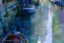 Aquarell Venedig