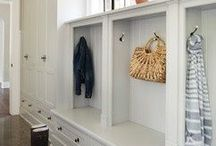 Mudroom Furniture / What is a mudroom? Simple. It's a room to shake off your mud! And mudroom furniture is all the rage! So whether you're looking for mudroom images, mudroom paint ideas, or maybe just a diy mudroom bench project, this mudroom photo gallery is sure to wet your whistle and give you great mudroom ideas for small spaces and large!