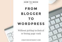 B - Blogging