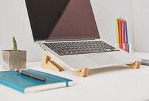 Portable Notebook Stand - Soporte de Notebook potátil / www.cactusmade.com