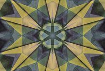 mandale wzory geometryczne