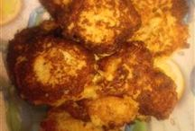Cauli fritters / Snack or veg