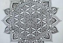 Mandala - élet virága