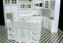 White Shabby Chic Dolls House Furniture from Melody Jane Dolls Houses