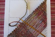 Crafty - Weaving / ... inspiration for easy ways to weave  / by Janneke Maat