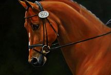 Horses In Art- English Tack