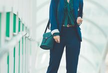 OFFICE STYLE Women Work Outfits / Nice examples of looks for office workers