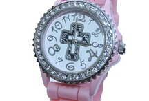 "Christian Watches / Christian Rhinestone & Silicone watches.  Proudly display your love for Jesus with a watch that is much more than a fashion piece! Please ""Like"" and ""Share"" with others!!
