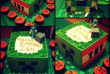 ians 10th birthday #minecraft / by Donna McKain