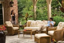 Comfy Outdoor Wicker / Outdoor wicker is comfy, trendy, stylish, cozy,...  its everything you need to make your patio your special place.
