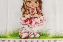 pintura e tecido / by maria roque