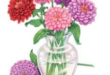 Botanical Interests - Zinnia