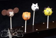 Aneshly Cakes pops / Here you will find a verity of cake pops stand there and 3-D even some characters made by Aneshly Cakes
