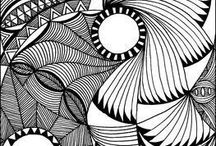 узоры абстрактные