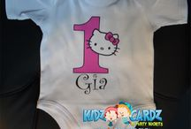Personalised Themed Babygrows