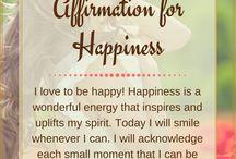 *Affirmations...*