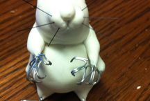 Lil Mouse Cold Porcelain / Different Crafts and Projects I have done.