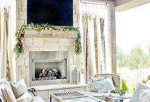 farm style living room