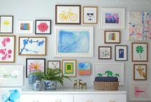 decor: gallery wall / by K. Fransen