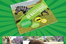 Οι βασιλιάδες της ζούγκλας / Στις σελίδες αυτού του βιβλίου θα ταξιδέψετε στον κόσμο των ζώων με σκοπό να εκλέξετε τον επόμενο βασιλιά της ζούγκλας, αφού πρώτα δείτε τους υποψήφιους σε 3D με κίνηση και ήχο πάνω στο βιβλίο!