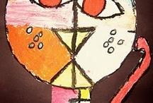 Arts / Activités en arts, dessin, peinture, bricolages