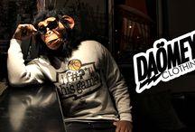 Daömey clothing / Marque loufoque et décalée crée par un jeune designer parisien. Univers Manga, NBA , Séries Us....