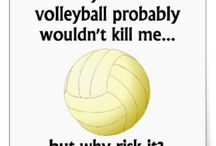 Volleyball sayings