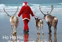 Christmas Beach Photo Sayings / Cool beach inspired photos with seasonal sayings!