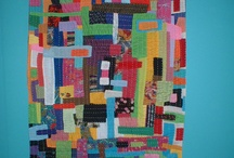 improv quilts / Improvised quilts