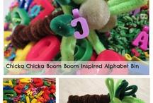 Preschool - Books - Chicka Boom  / by Toni Brazil