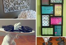 DIY Ideas / 1st Apartment Ideas