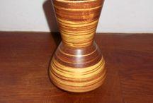 Bay Tiger glaze vase