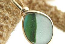 Seaham England -  Sea Glass Jewelry