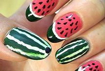 Makeup and nails / by Roberta LaMarr