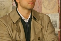 castiel / guardian angel , so strong  and hot