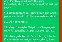 Tips for fiction