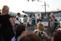 Ladies Club na lodi v Brně