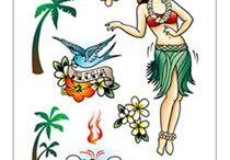 Retro Tattoo Shoe / by Confessions of a Glitter Addict