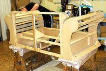 Konstrukce křesel, gaučů