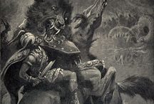 Folklore, Mythical Beings & Places / Ancient Pantheons of gods and beast / by Lexi Ander