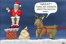 Funny Christmas, Ho,HO,Hoe!........... / Have a Merry and Funny Christmas! / by Alex From Stroh's