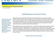 Culturally Competent Trauma Informed Care