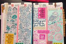 открытки и блокноты